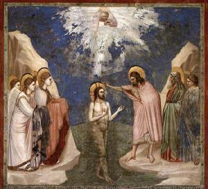 Baptism of Christ - GIOTTO di Bondone