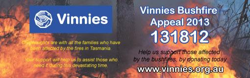 tas bushfire appeal