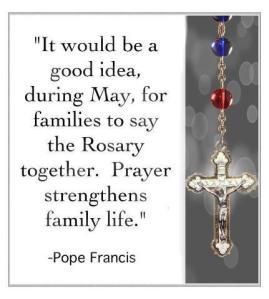 francis may rosary families