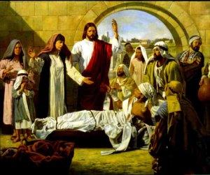 jesus raises widow's son